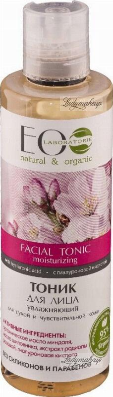 ECO Laboratorie - Facial Tonic - Nawilżający tonik do twarzy - Cera sucha i wrażliwa - 200 ml