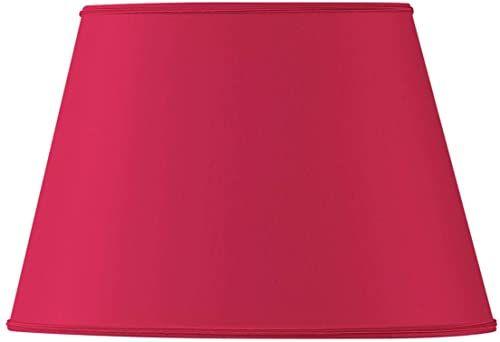 Klosz lampy owalny, Ø 25 x 16,5 x 15,5 x 10,5 x 16,5 cm, czerwony