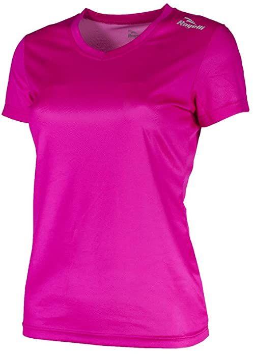 Rogelli Damska koszulka do biegania Promo, Roze, XS