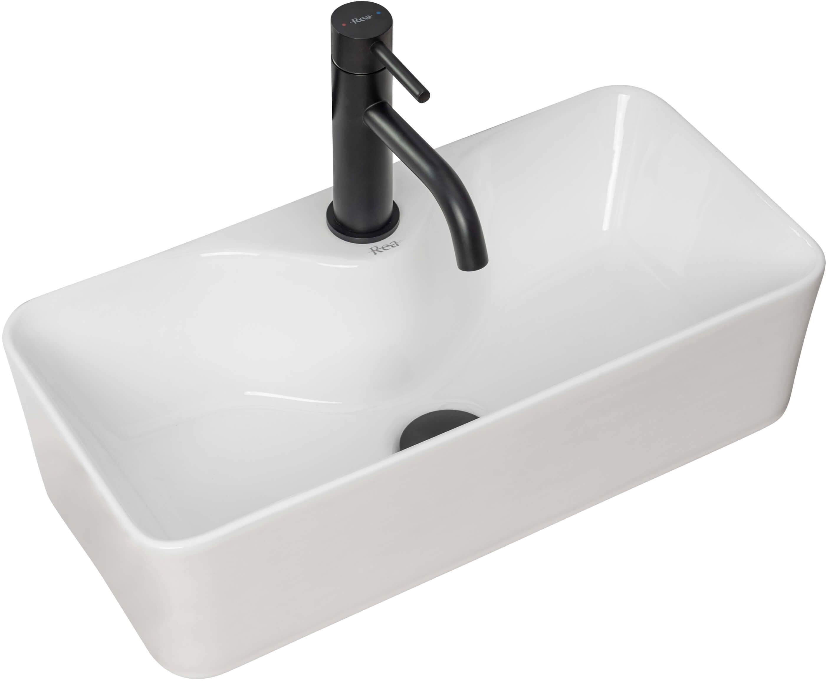 Umywalka nablatowa 50 Mery Rea (REA-U0699)