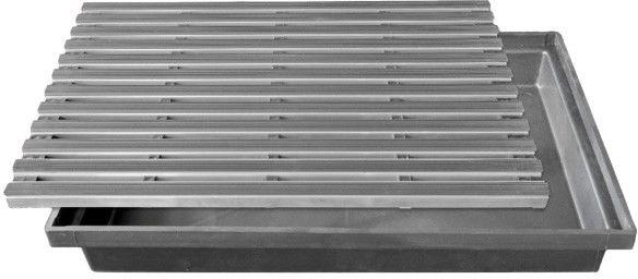 Wycieraczka aluminiowa gumowa 400 x 600 mm
