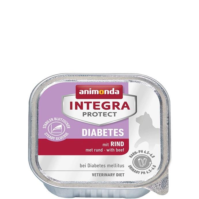 ANIMONDA Integra Protect Diabetes Cat 100 g z wołowiną