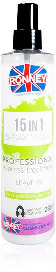 Ronney 15 in 1 Spray Mask Wielofunkcyjna maska do włosów 285 ml