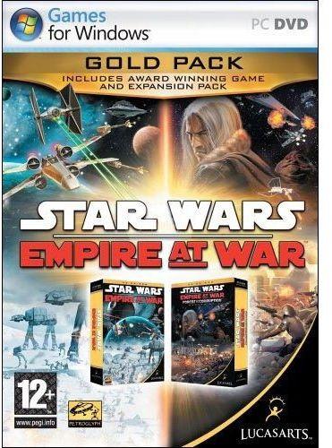 Star Wars Empire at War: Gold Pack (PC) klucz Steam