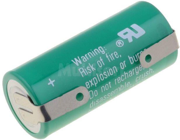 Bateria litowa VARTA 3V 2/3AA,2/3R6 blaszki lutownicze 1350mAh