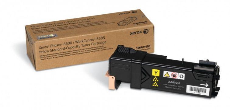 Toner żółty do drukarki XEROX Phaser 6500 (106R01600)
