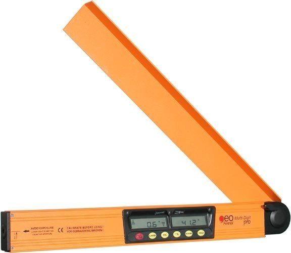 Kątomierz elektroniczny z poziomicą laserową Multi-Digit Pro 50 cm