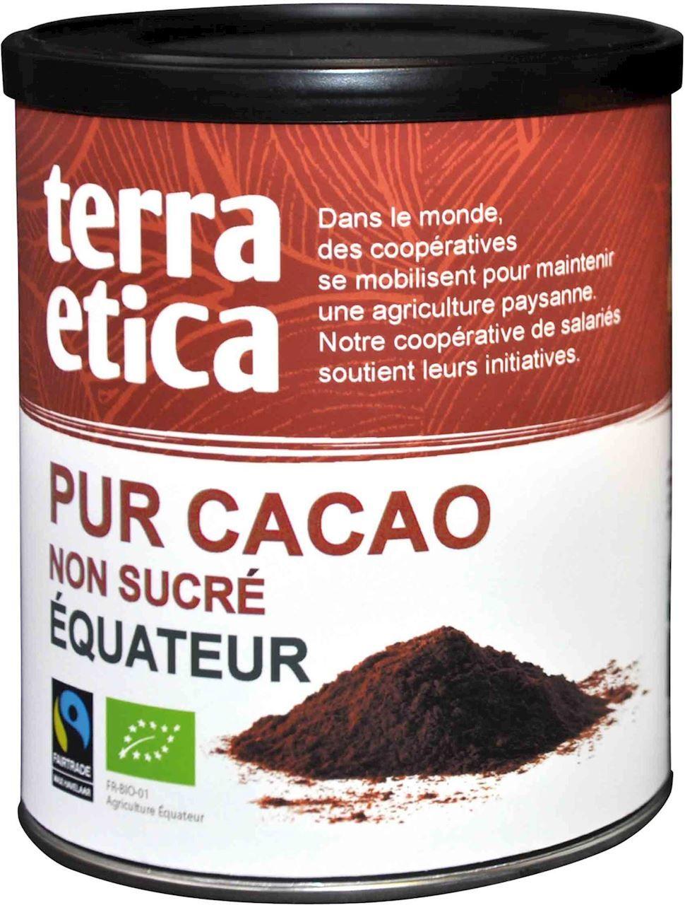 Kakao fair trade bio 200 g - terra etica