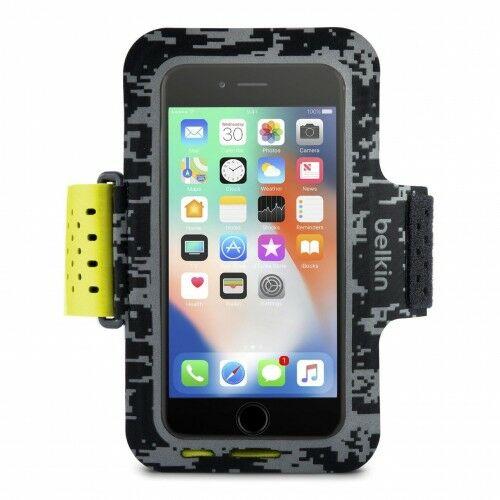 Etui Opaska na ramię Belkin Sport-Fit Pro iPhone 8, 7, 6 limonkowa