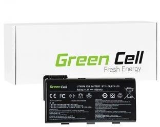 Bateria do MSI A6000 CR500 CR600 CR700 CX500 CX600 11,1V 4400 mAh Green Cell MS01