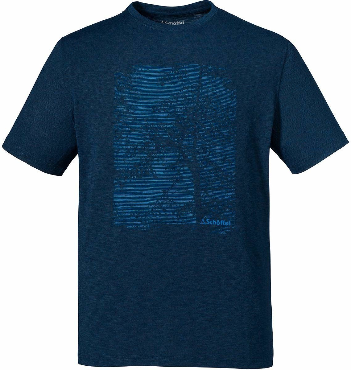 Schöffel Sao Paulo4 T-shirt męski, dress blues, 54