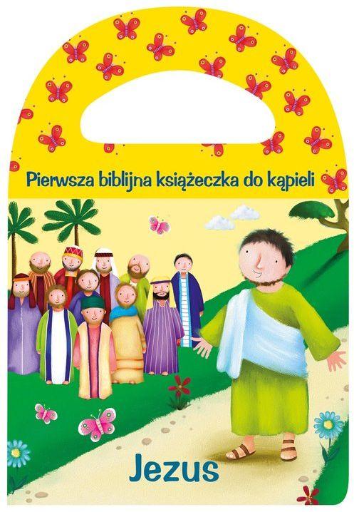 Pierwsza biblijna książeczka do kąpieli Jezus ZAKŁADKA DO KSIĄŻEK GRATIS DO KAŻDEGO ZAMÓWIENIA