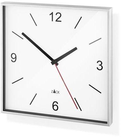 Zack - zegar sillar - biały - biały