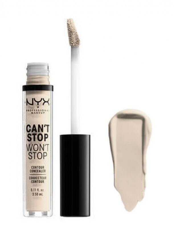 NYX Professional Makeup - CAN''T STOP WON''T STOP- CONCEALER - Korektor w płynie - PALE