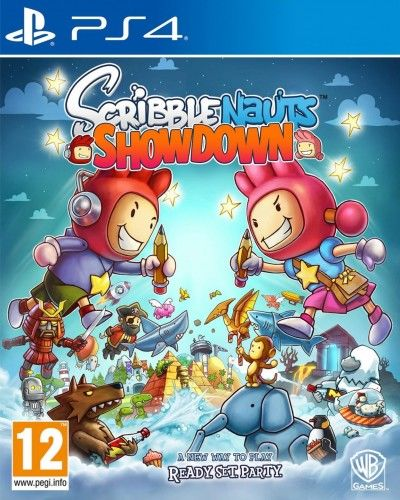 Scribblenauts Showdown PS4