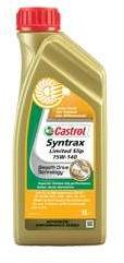 olej przekładniowy CASTROL Syntrax Limited Slip 75W-140 1L