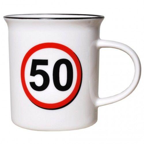 Kubek na 50 urodziny Znak
