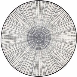 Wash + sucha mata, szara, 115 cm okrągła
