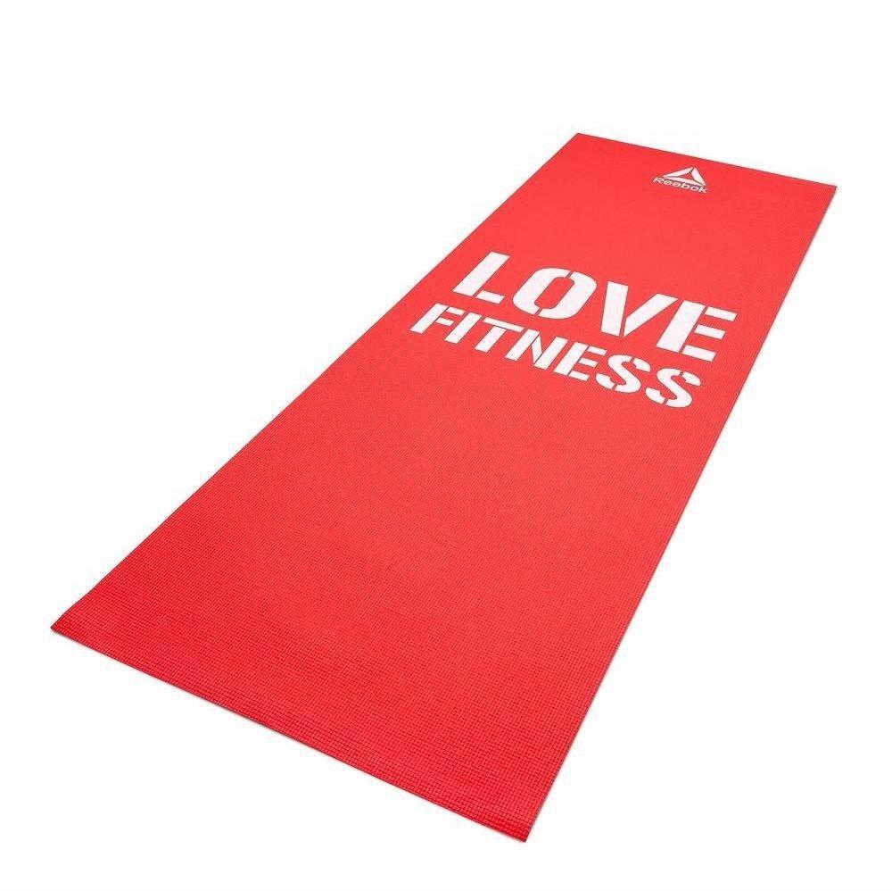 Mata do ćwiczeń Love Fitness 173 x 61 x 0,4 cm Reebok czerwona