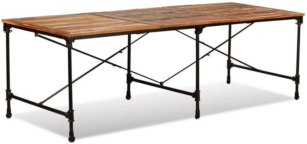 Stół z drewna odzyskanego Sinnar 3X  wielokolorowy