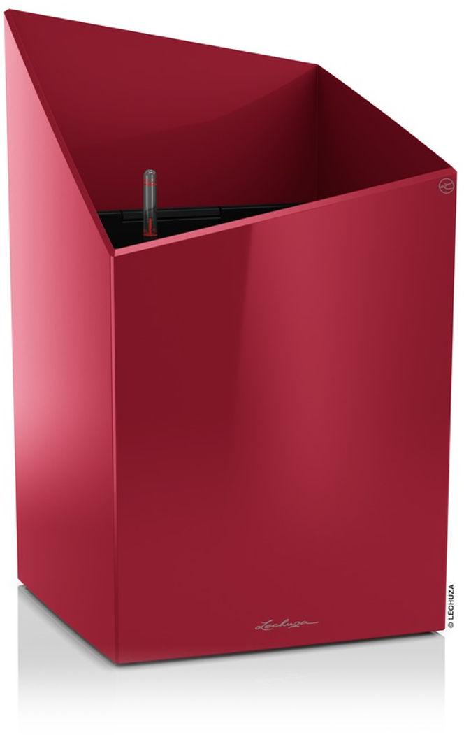 Donica Lechuza CURSIVO Premium 30 czerwony scarlet połysk