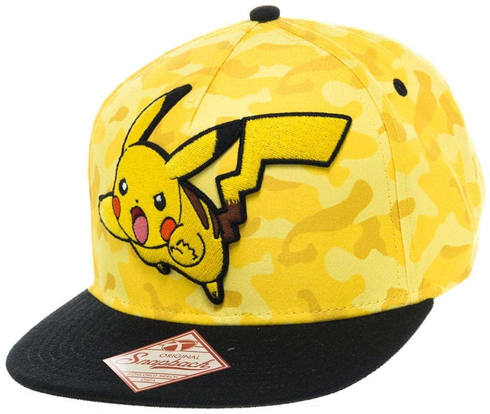 Czapka Pokemon - Pikachu Camo