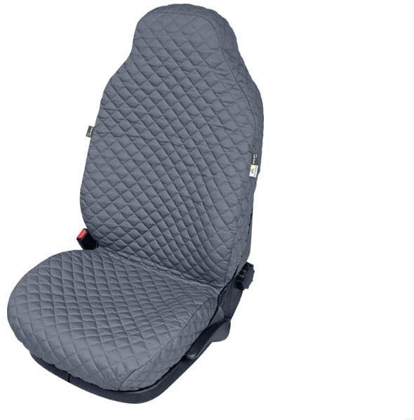 Pokrowiec zwiększający komfort fotela COMFORT popielaty