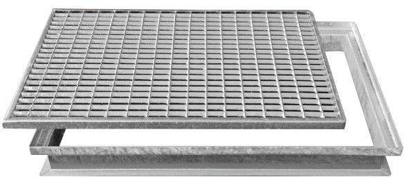 Wycieraczka metalowa 400 x 590 mm