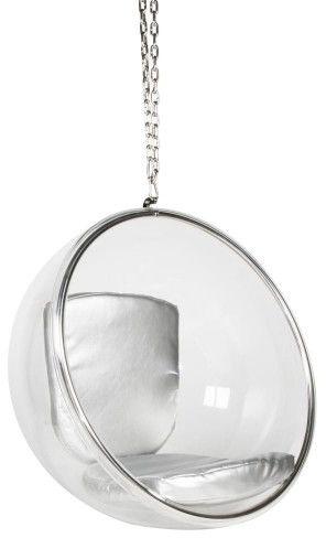 Fotel BAŃKA I - inspirowany proj. Bubble Chair ekoskóra
