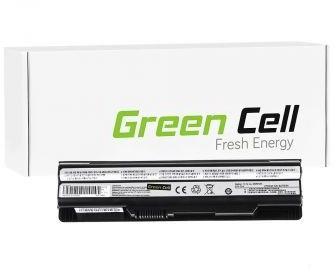 Bateria do MSI CR650 CX650 FX600 11,1V 4400 mAh Green Cell MS05