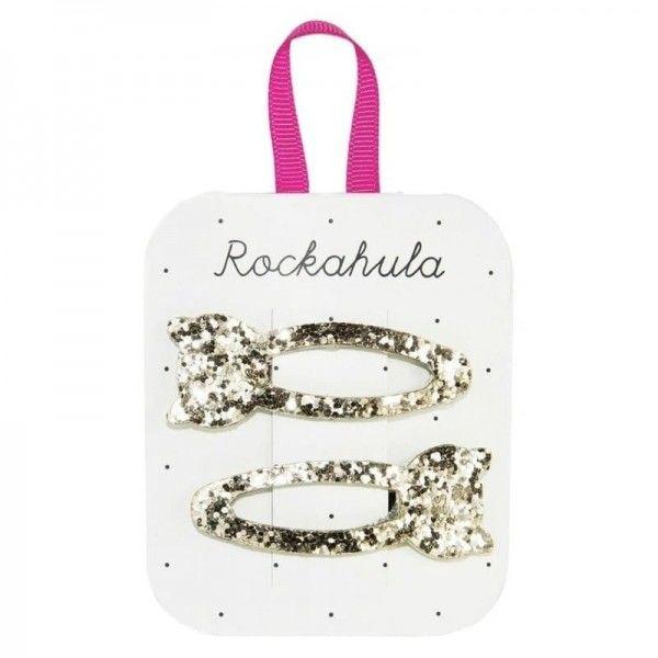 Rockahula Kids - Spinki do Włosów Glitter Cat