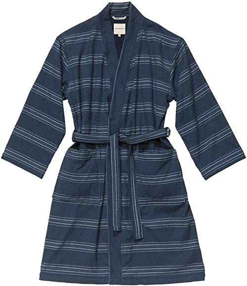 TOM TAILOR 0100509 szlafrok Wellness Kimono, Navy, S