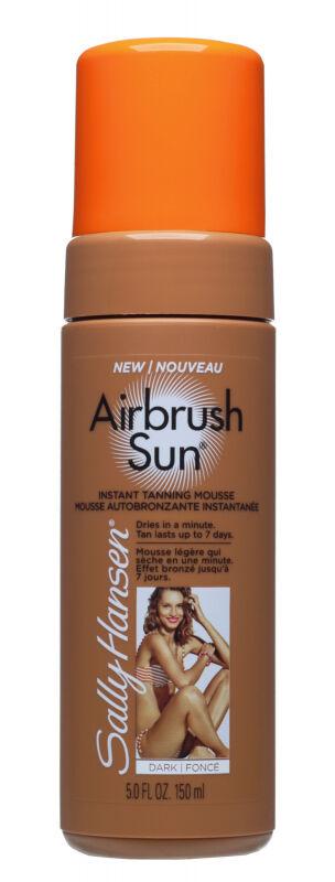 Sally Hansen - Airbrush Sun - Instant Tanning Mousse - Pianka opalająca do ciała - DARK