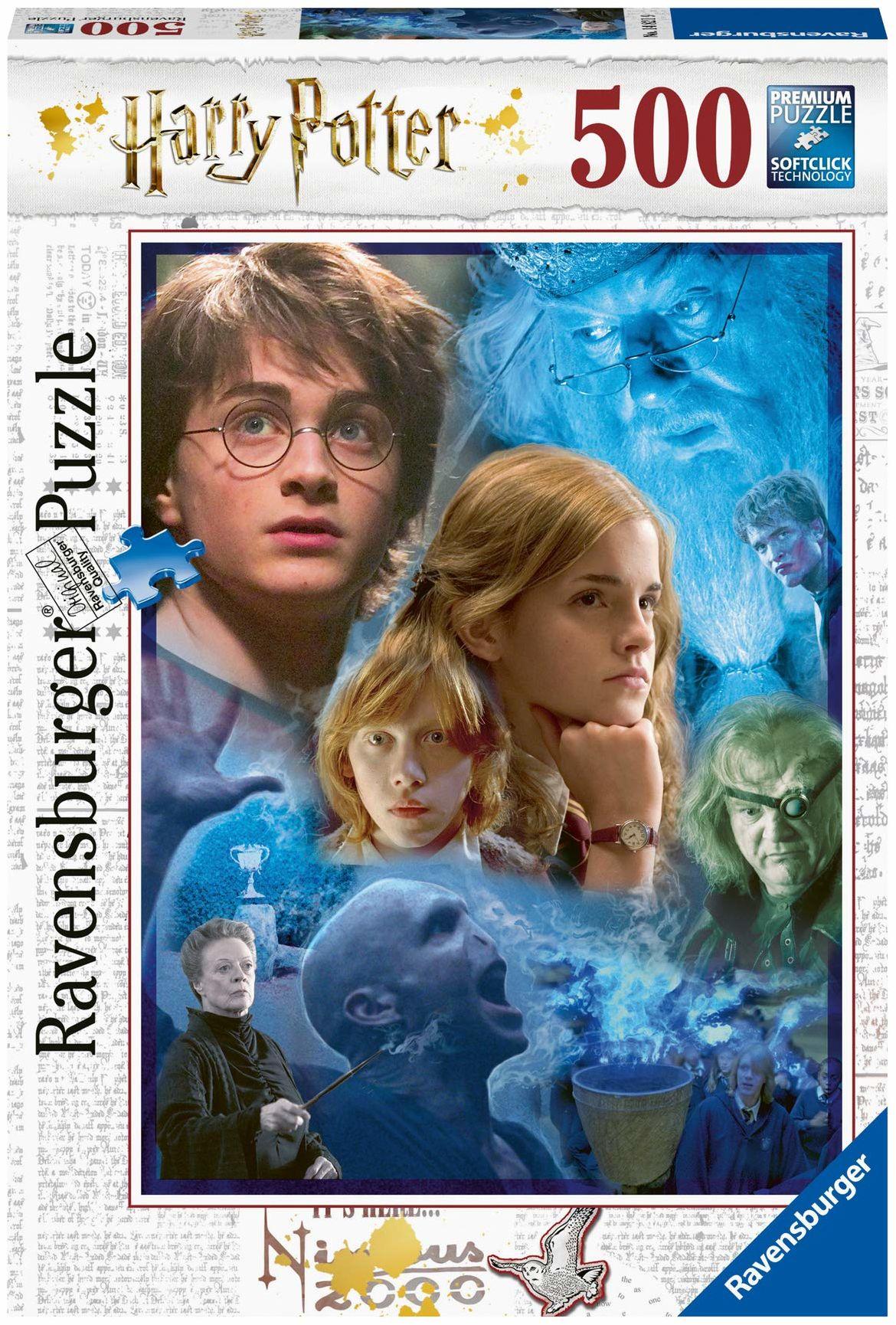 Ravensburger Puzzle 14821 - Harry Potter w Hogwarcie - 500 części
