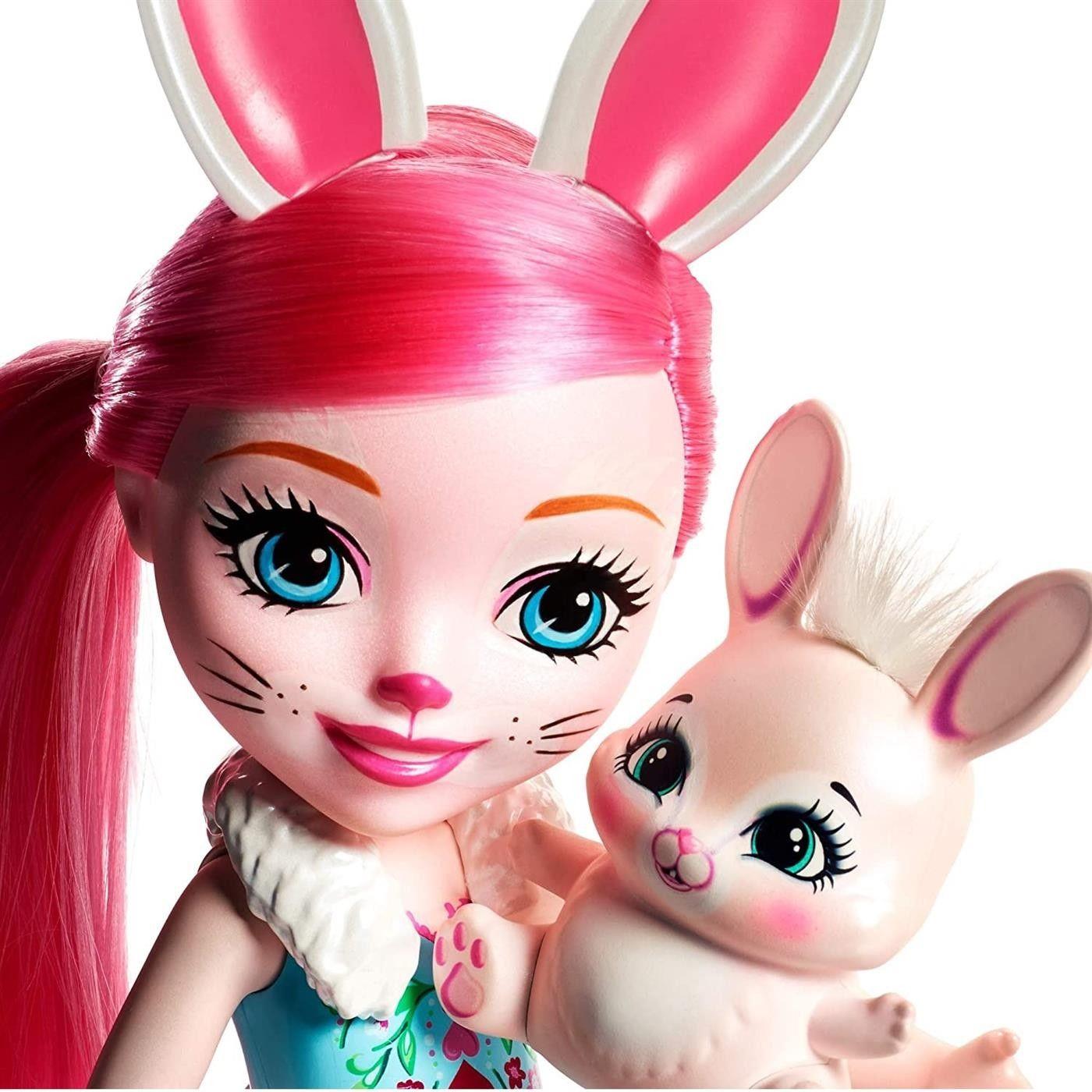 Enchantimals Duża lalka 30cm + zwierzątko Królik FRH51_FRH52