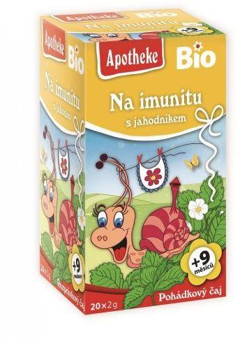 Herbatka dla dzieci NA ODPORNOŚĆ TRUSKAWKA BIO 40 g (20 x 2 g) Apotheke