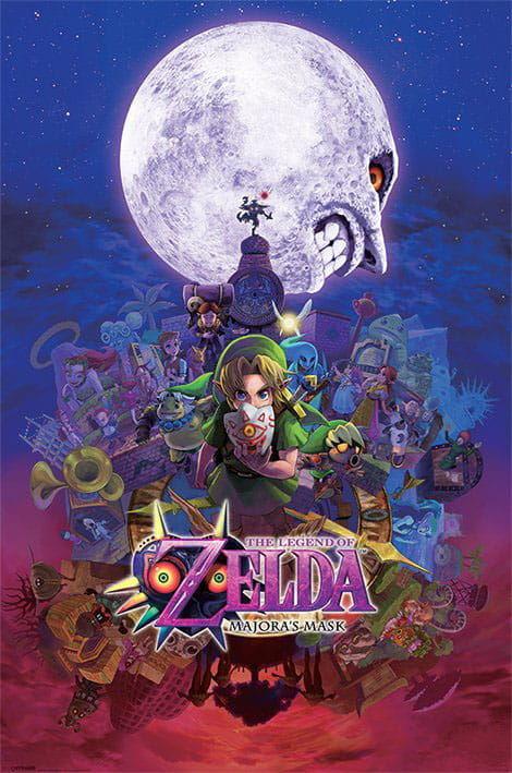 Plakat - The Legend of Zelda - Majoras Mask