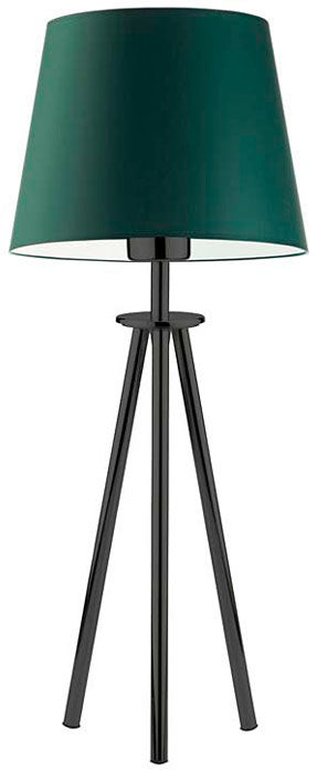 Lampka nocna trójnóg na czarnym stelażu - EX914-Berges - 18 kolorów