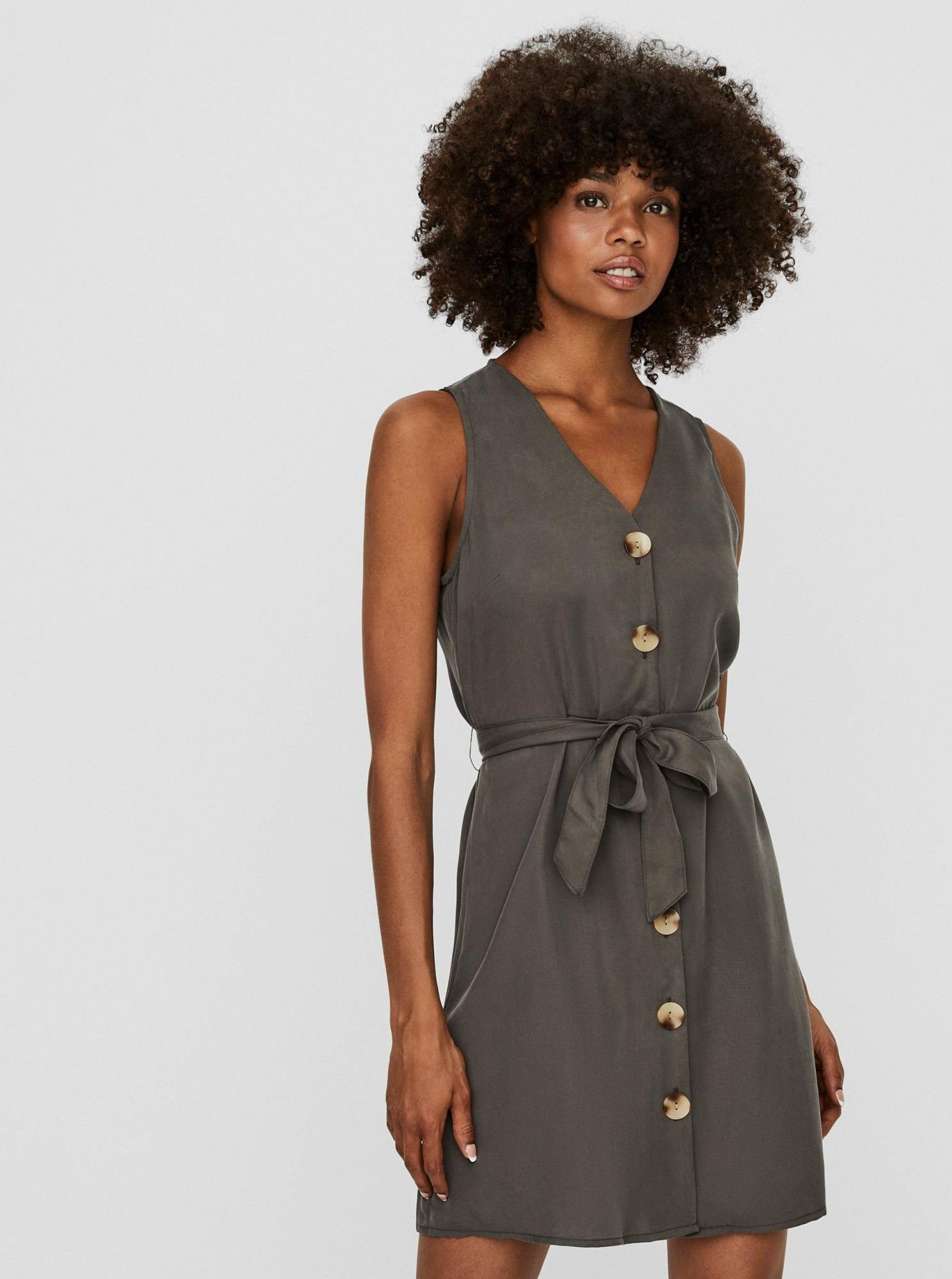 Vero Moda szary sukienka Viviana - XL