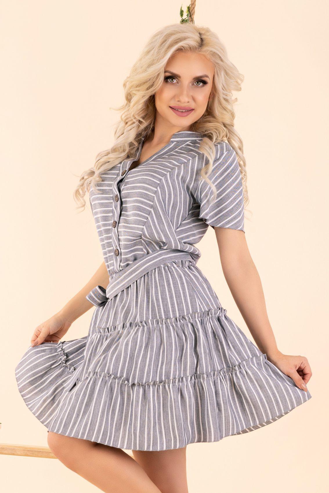 Ragominam Grey D87 sukienka