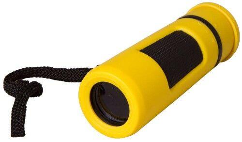 Monokular Bresser Topas 10x25, żółty