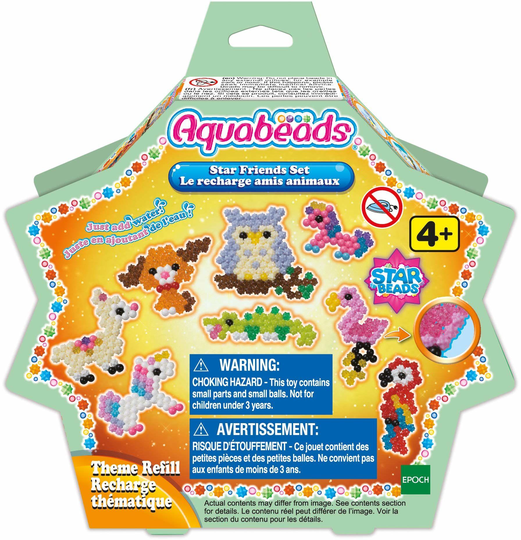 Aquabeads  31602  gwiazdki perły zwierzęce zestaw nowy