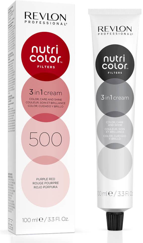 Revlon Nutri Color Filters 3in1 Maska koloryzująca do włosów farbowanych 100ml