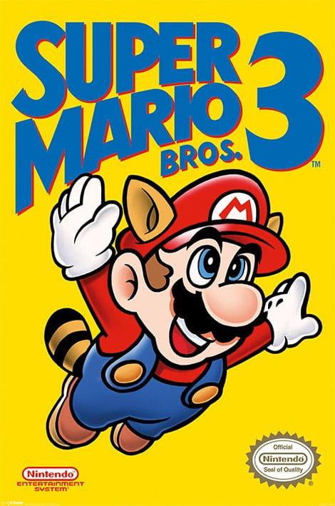 Plakat - Super Mario Bros. 3