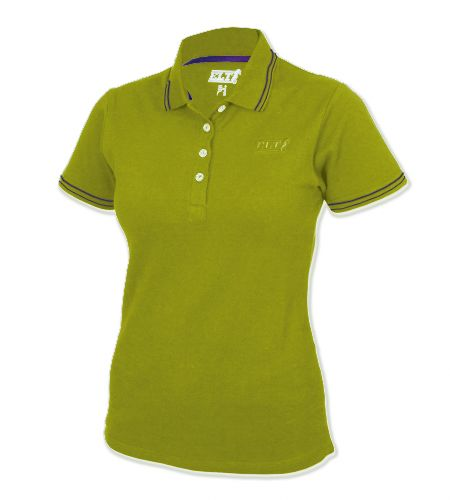 Koszulka polo LARA damska ELT - Waldhausen - pistazie
