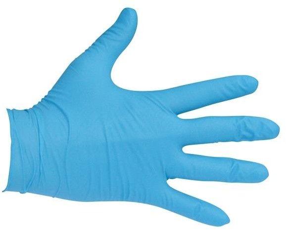 Rękawiczki nitrylowe bezpudrowe rozmiar L 100szt