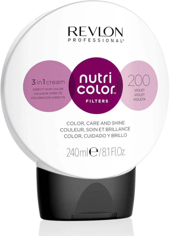 Revlon Nutri Color Filters 3in1 Maska koloryzująca do włosów farbowanych 240ml