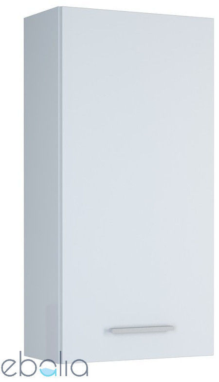 Elita Kwadro Plus szafka wisząca biała 40 1D głębokość 31 166723