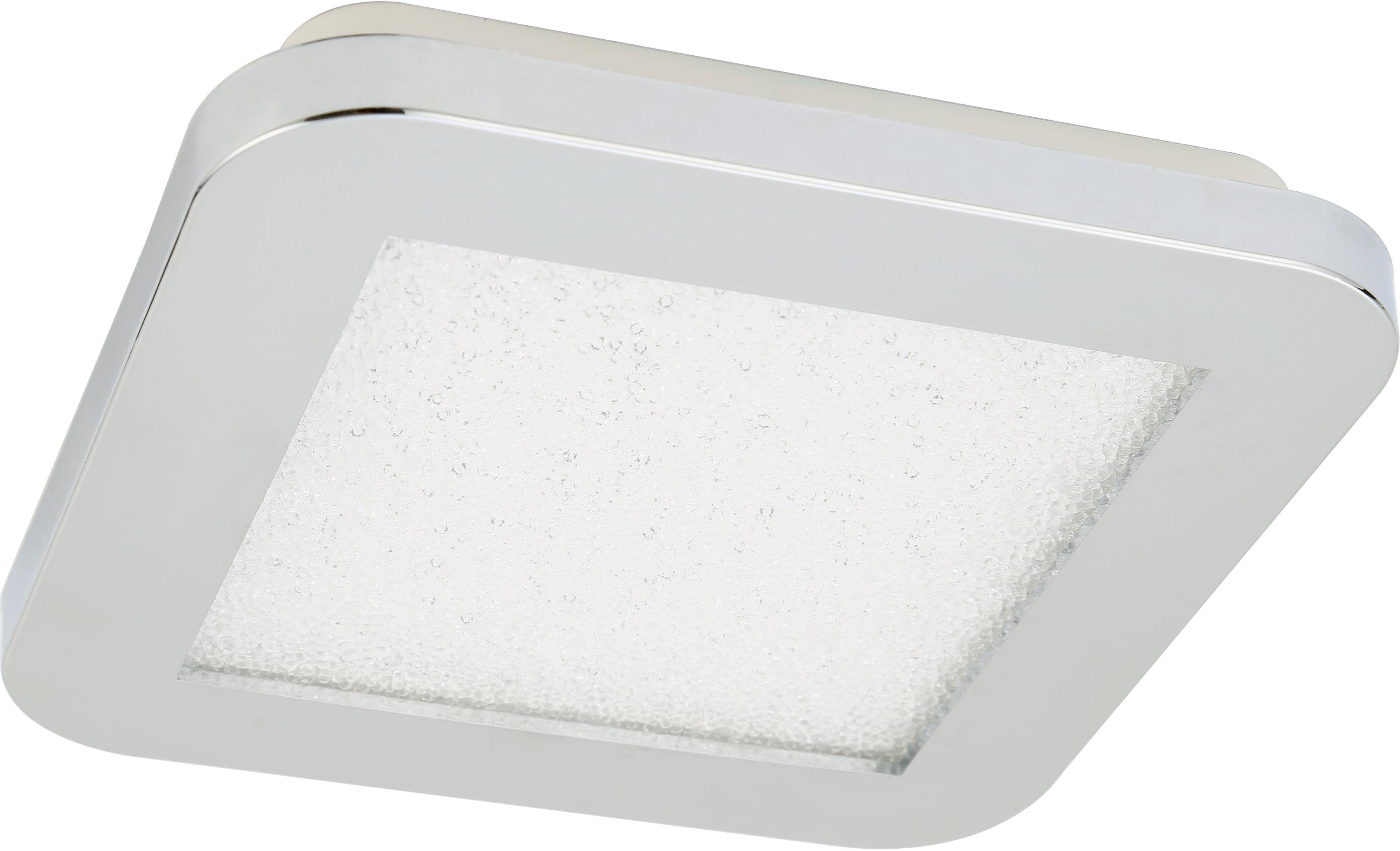 Candellux NEXIT 10-66770 plafon lampa sufitowa chrom+granila regulacja jasności świecenia 10W LED 3000K 17cm IP44
