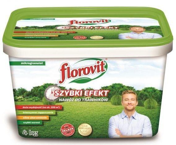 Florovit Nawóz do trawników SZYBKI EFEKT 4kg